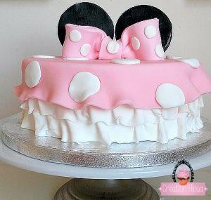 Recette Tuto gâteau minnie