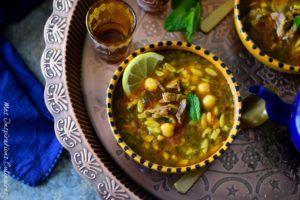 Recette Soupe Shorba Libyenne à l'agneau
