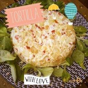 Recette Tortilla au cookeo