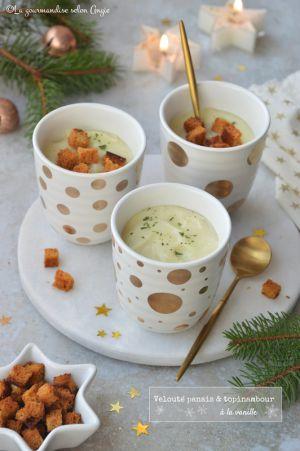 Recette Velouté de panais & topinambours à la vanille #vegan #glutenfree #Noël