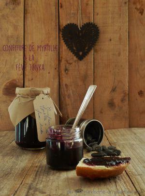 Recette Confiture de myrtilles à la fève tonka