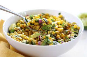 Recette Salade de maïs et d'avocat