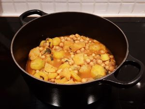 Recette Cocotte de légumes aux pois chiches [le lundi c'est veggie]