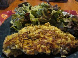 Recette Tortilla aux haricots