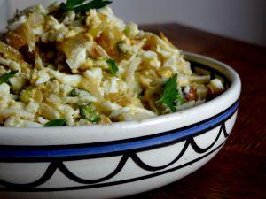 Recette Salade d'oeufs (Israël)