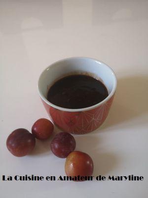 Recette Sauce aux prunes
