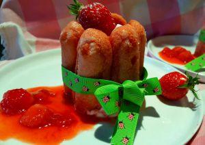 Recette Petites Charlottes aux fraises