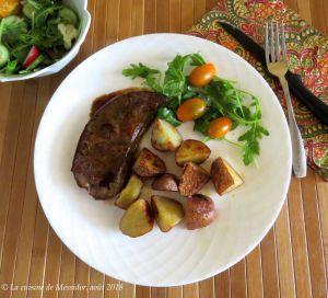 Recette Foie de veau, sauce balsamique +
