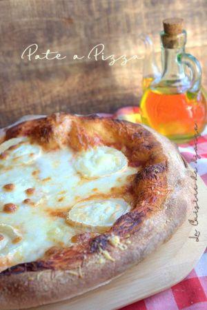 Recette Pate à pizza maison sans robot