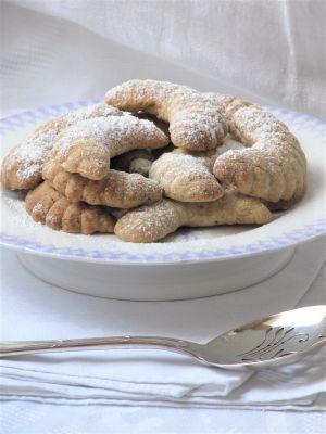 Recette Croissants de lune aux noisettes