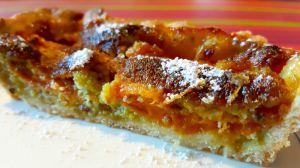 Recette Tarte aux abricots et à la crème de pistaches