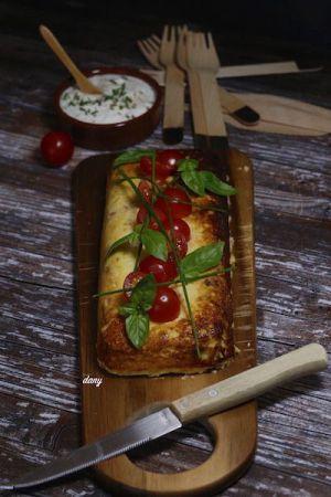 Recette Terrine au reste de poisson au fromage ail et fines herbes