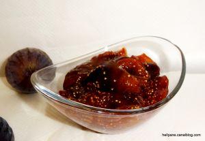 Recette Chutney de figues, miel, gingembre