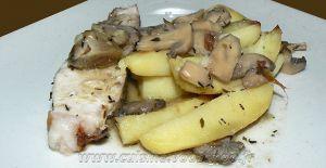 Recette Rouelle de porc et pommes de terre au four