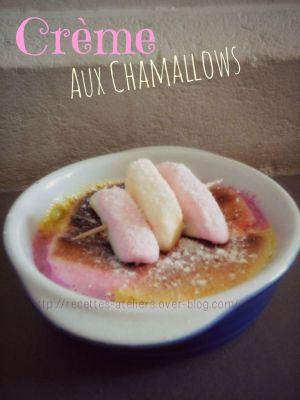 Recette Crème Aux Chamallows