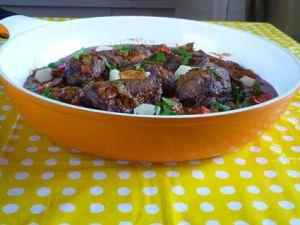 Recette Joues de porc mijotées aux épices