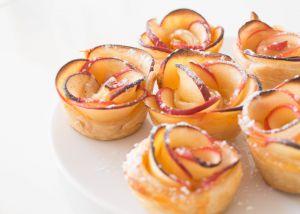 Recette Apple roses / Roses feuilletées aux pommes