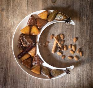 Recette Chbeh essafra aux Amandes, aux noix et pistaches
