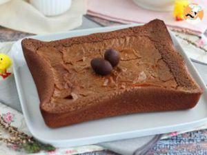 Recette Brownie aux restes de chocolats de Pâques