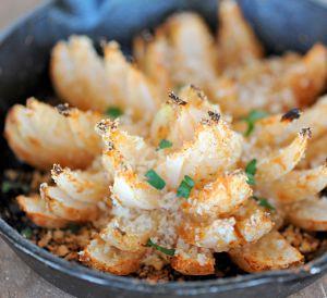 Recette Fleurs d'oignons frits sur le BBQ