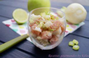 Recette Tartare de saumon au fenouil et à la pomme verte