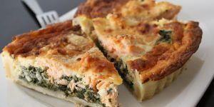 Recette Quiche saumon-épinards