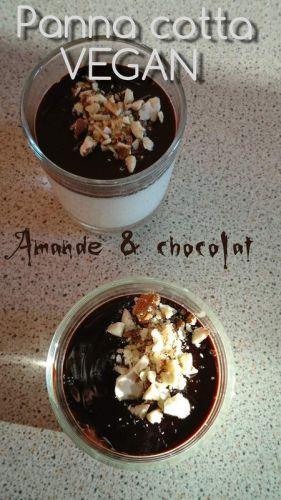 Recette Panna cotta amande & chocolat