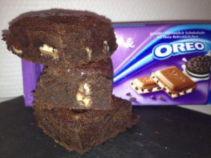 Recette Brownies Oreo