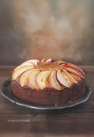 Recette Cake aux pommes gingembre et miel