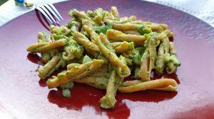 Recette Pâtes aux haricots verts