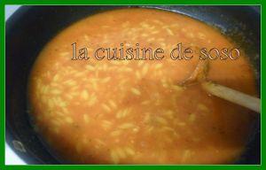 Recette Soupe chorba