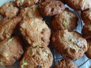 Recette Cookies à la courgette