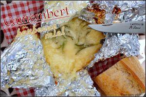 Recette Camembert au Barbecue et miel