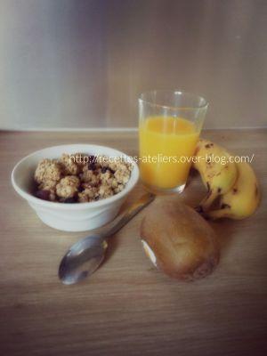 Recette Céréales aux graines de chia