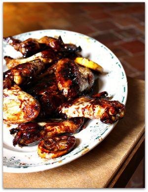Recette Du poulet caramélisé au gingembre et citron pour l'année du mouton