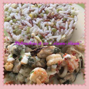 Recette Cassolette de fruits de mer