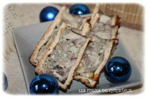 Recette Mini pâté en croûte faisan marrons