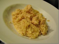 Recette Risotto au poulet