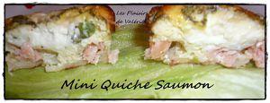 Recette Mini Quiche Saumon (sans pâte)