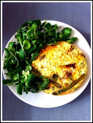 Recette Frittata aux asperges: un dîner gourmand et léger