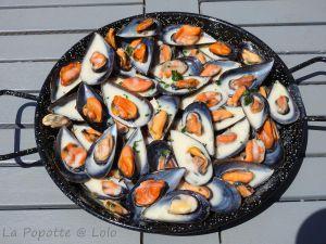 Recette Moules à la crème, Façon Normande (cookeo ou pas)