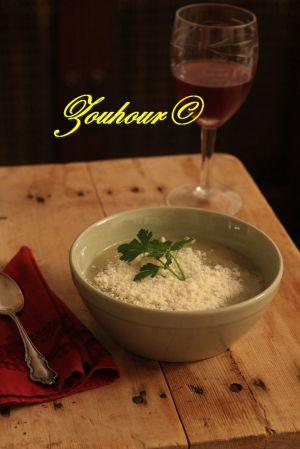 Recette Soupe aux pommes de terre (Potato soup)