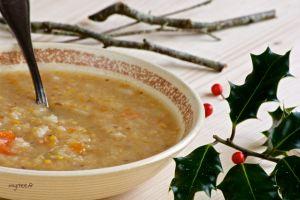 Recette Soupe au chou et pruneau (vegan)