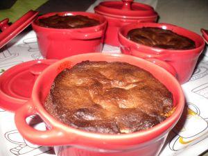 Recette Cocotte chocolat, coeur chamallow