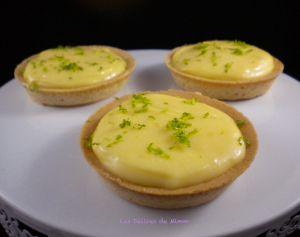 Recette Tartelette au citron express