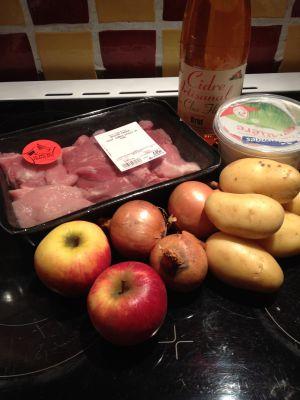 Recette Sauté de porc au cidre Cookéo
