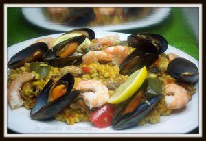 Recette Risotto aux fruits de mer et chorizo