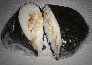 Recette Onigirazu crousti poulet-mayo