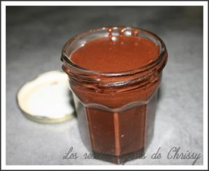 Recette Pate a tartiner chocolat noisette thermomix