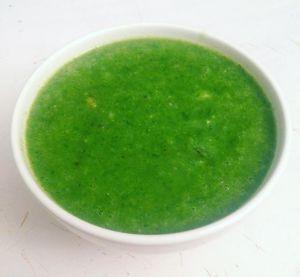Recette Soupe aux fanes de radis